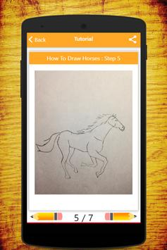 How To Draw Horses screenshot 18