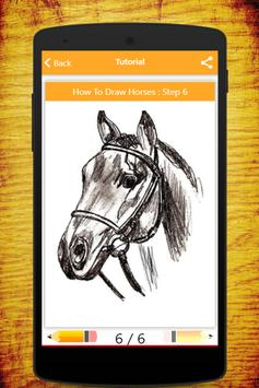 How To Draw Horses screenshot 3