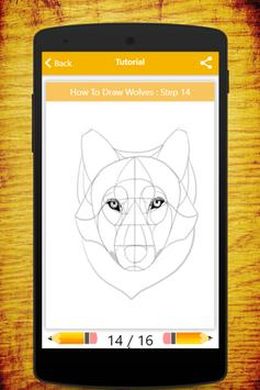 How To Draw Wolves screenshot 16