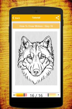 How To Draw Wolves screenshot 11