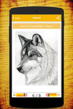 How To Draw Wolves screenshot 8