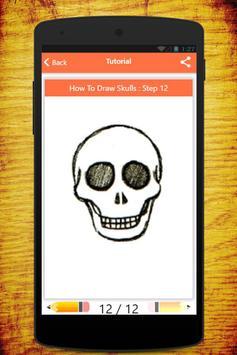 How To Draw Skull apk screenshot