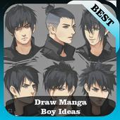 Drawing Anime Boy Idea - for Beginner icon