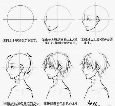 Drawing Anime Boy Idea - for Beginner screenshot 5