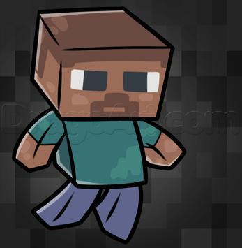 Drawing Minecraft Characters Tutorial screenshot 5