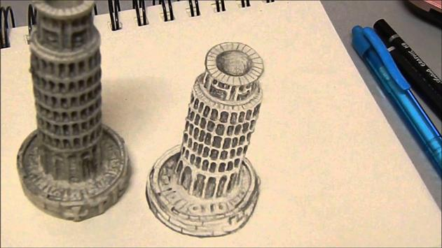 Draw 3D Step By Step screenshot 4