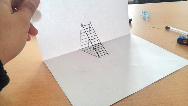 Draw 3D Step By Step poster