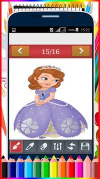 Learn how to draw  Disney Princess apk screenshot