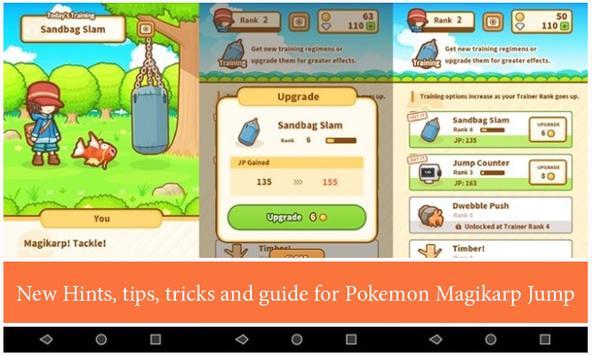 Hints Pokémon: Magikarp Jump poster