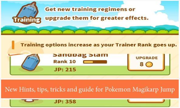 Hints Pokémon: Magikarp Jump apk screenshot