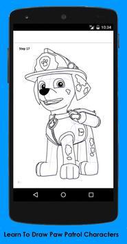 How To Draw Paw Patrol screenshot 1