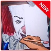 draw pennywise icon