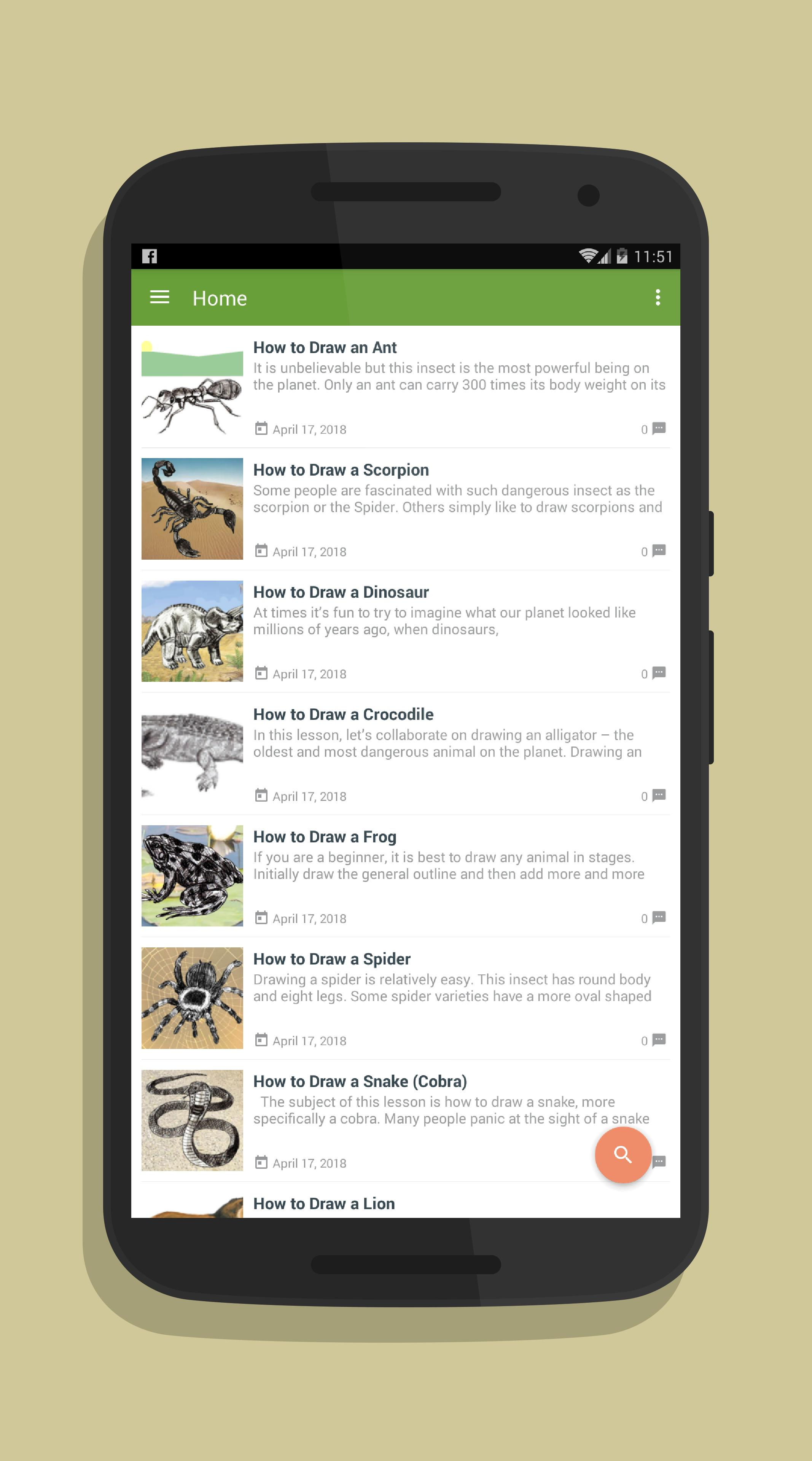Draw Realistic Animals Tutorial For Android Apk Download
