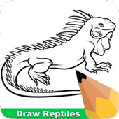 How To Draw Reptiles icon