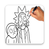 Learn To Draw Rick and Morty icon