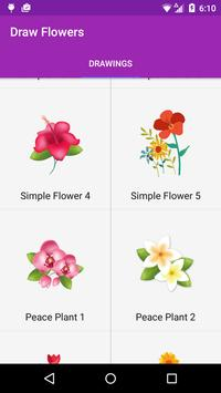 Draw Flowers Step by Step screenshot 4