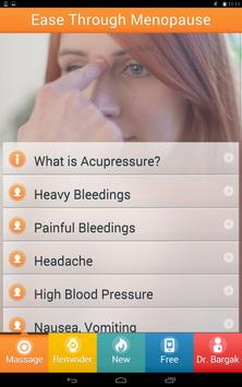 Acupressure For Menopause FREE apk screenshot