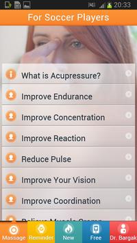 Football Players Acupressure apk screenshot