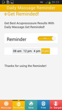 Relax NOW With Acupressure. apk screenshot