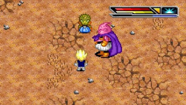 Dragon Goku Battle Buu Fury poster