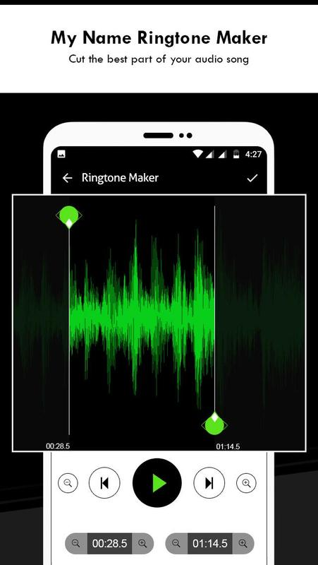 my name ringtone maker with song