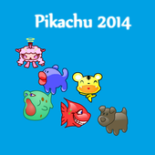 new Pikachu 2014 NO SMS,NO Ads icon