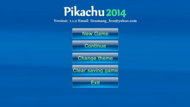 new Pikachu 2014 NO SMS,NO Ads poster