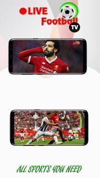 1 Schermata Live Football TV