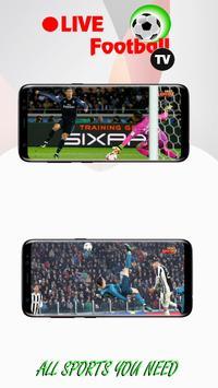 3 Schermata Live Football TV