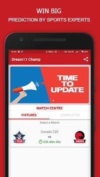 Fantasy Champ - Dream11 Prediction & Tips ,AsiaCup poster