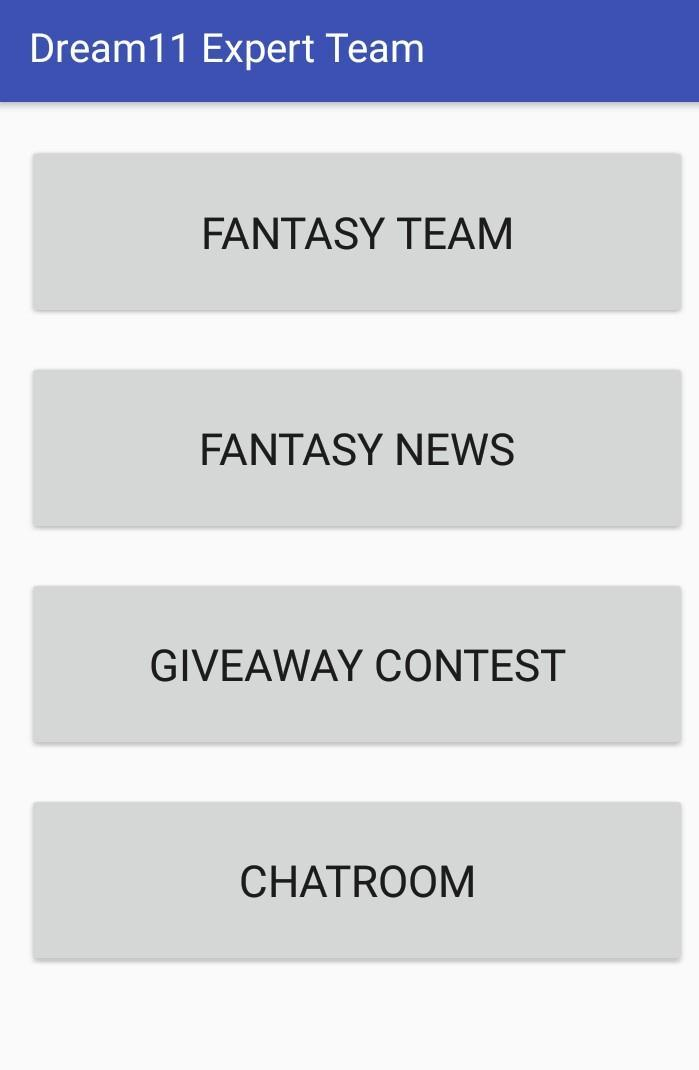Dream11 Expert Teams & Daily Giveaway Contest for Android
