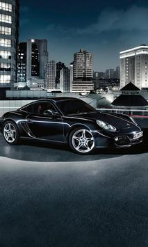Wallpaper Porsche Cayman Turbo poster