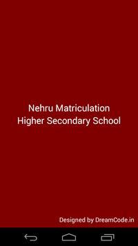 Nehru Matriculation School poster