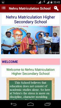 Nehru Matriculation School screenshot 1