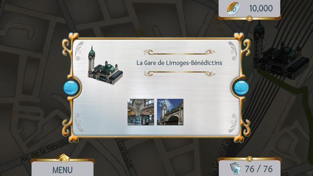 Mystère dans ma ville Limoges apk screenshot