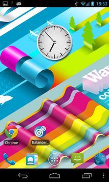 Flyer Clock skin Wall screenshot 2