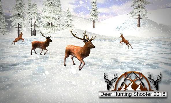 Deer Sniper Hunting 2018 : Free Deer Best Shooter poster