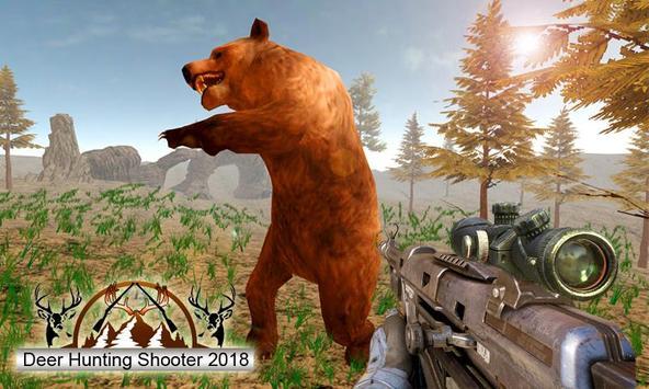 Deer Sniper Hunting 2018 : Free Deer Best Shooter screenshot 1
