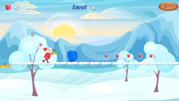 Santa Claus Run apk screenshot
