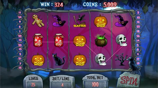 Creepy Halloween Slots screenshot 11