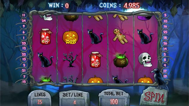 Creepy Halloween Slots screenshot 5