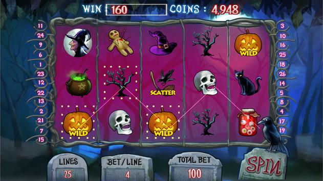 Creepy Halloween Slots screenshot 8
