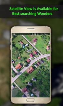 GPS Navigation Travel, Map-Satellite Route 2018 screenshot 3