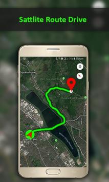 GPS Navigation Travel, Map-Satellite Route 2018 screenshot 4