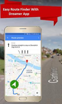 GPS Navigation Travel, Map-Satellite Route 2018 screenshot 5