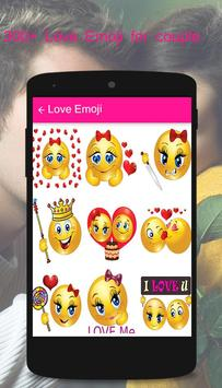 Propose Day Love Emoticons - Love Stickers apk screenshot