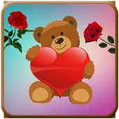 ♥♥ Teddy Love Stickers & Emoticons ♥♥ icon