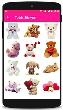 ♥♥ Teddy Love Stickers & Emoticons ♥♥ poster