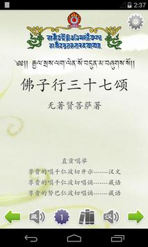 佛子行三十七颂 poster