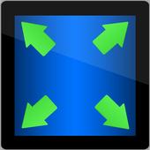Hide System Bar (Full Screen) icon